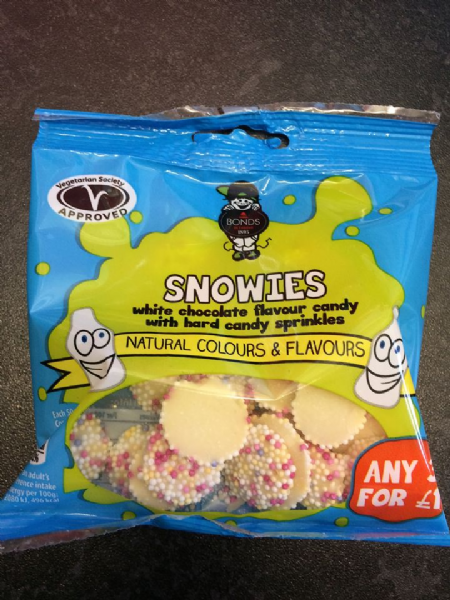 Bonds Snowies 50g packet